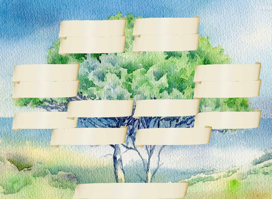 pins parasols,arbre genealogique gratuit à imprimer