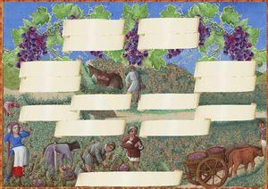 vendanges,arbre genealogique gratuit � imprimer